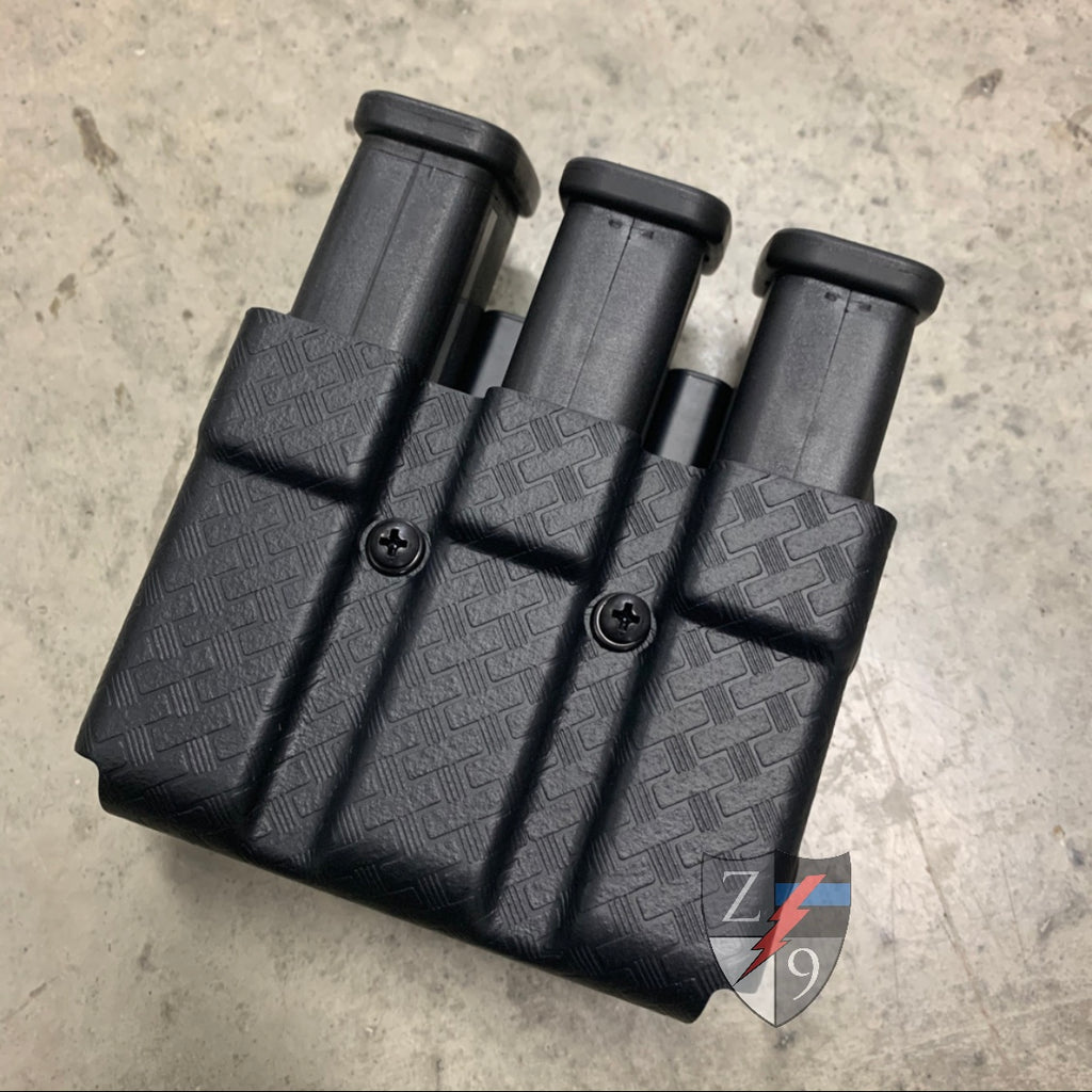 Glock 45 Triple Mag Basketweave
