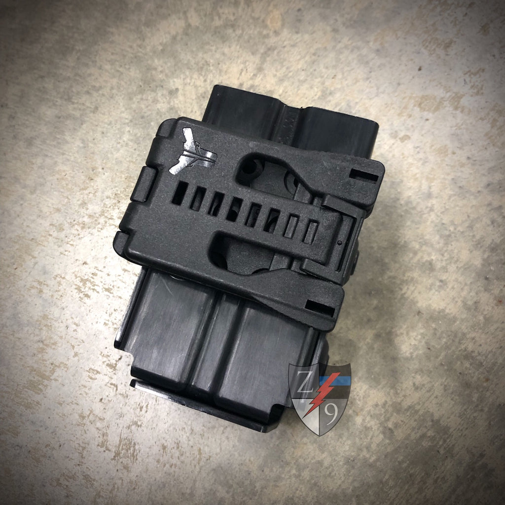 Duty Style Double Mag Pouch - 9/40
