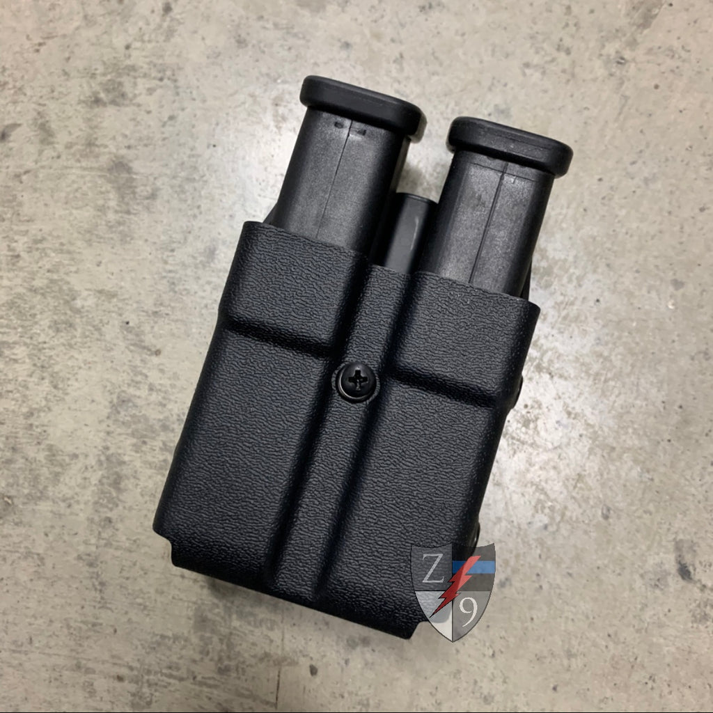 Glock 45 caliber double mag case