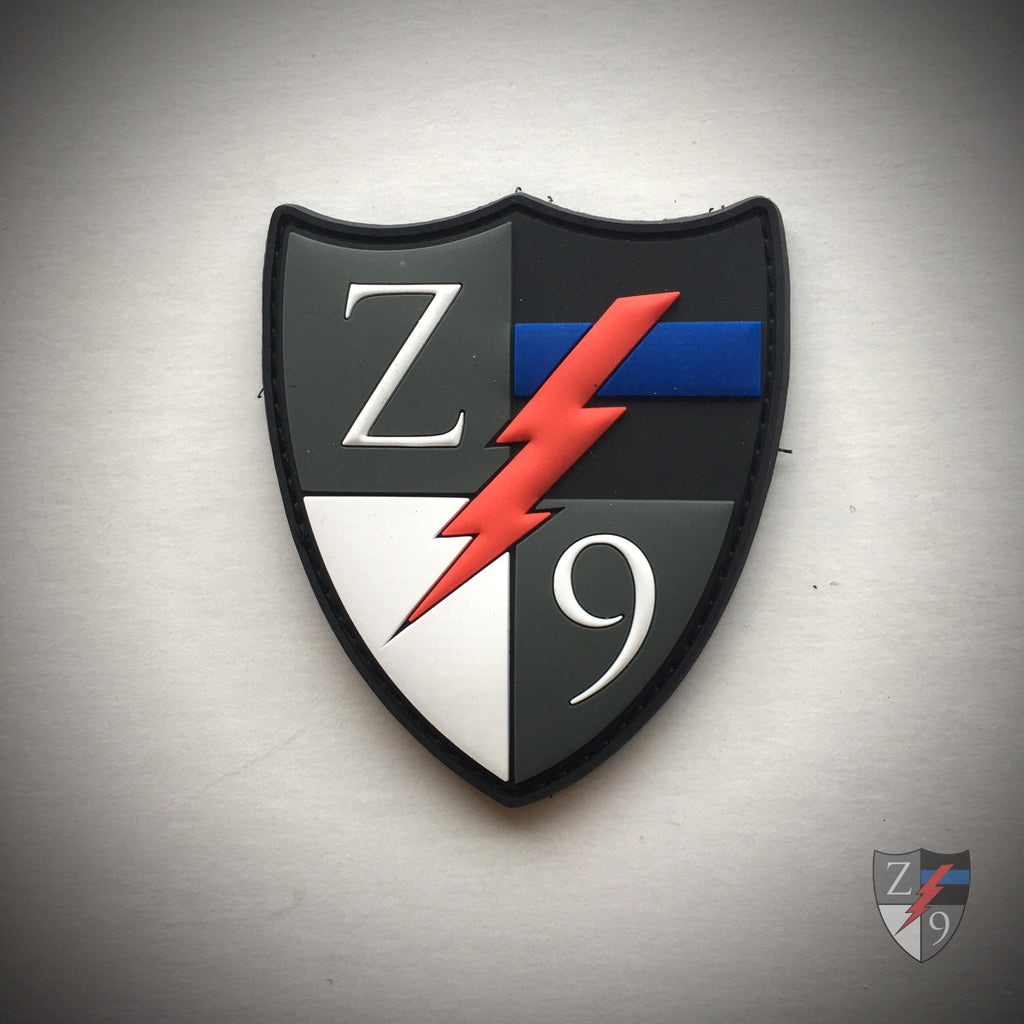 Zero9 Logo PVC Patch