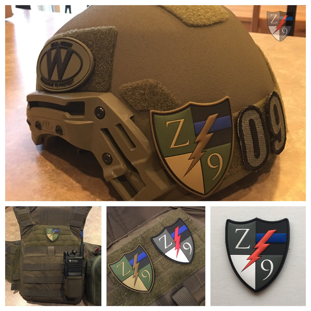 Zero9 PVC Patches