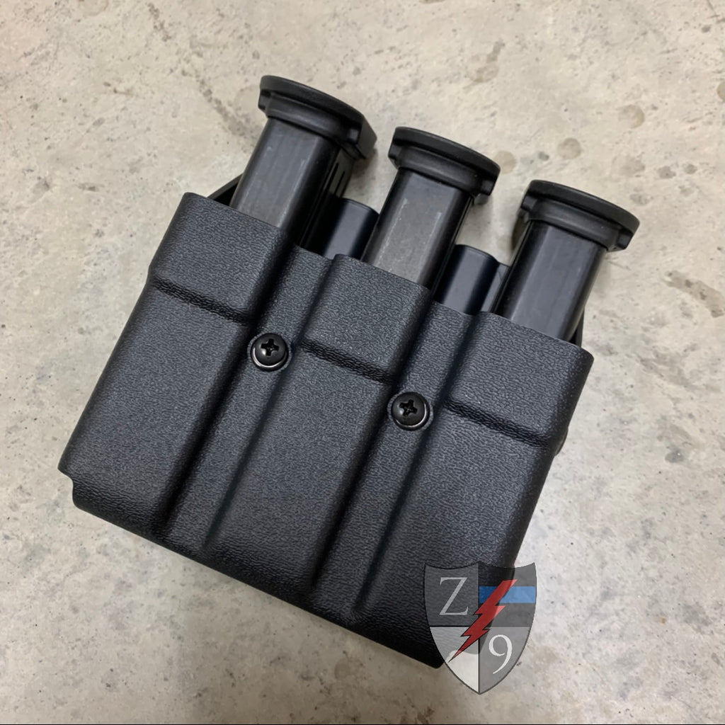Duty Style Triple Mag Pouch - 45cal