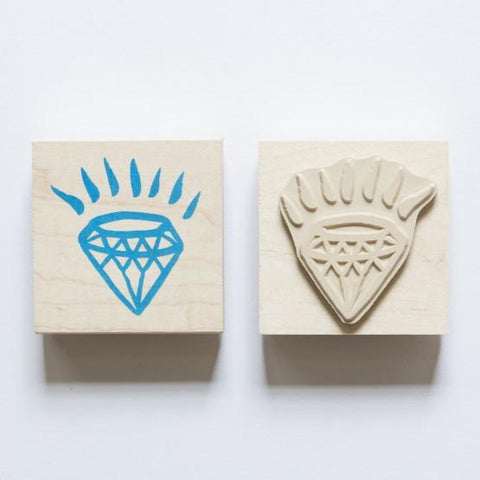 Yellow Owl Workshop - Diamond Rubber Stamp
