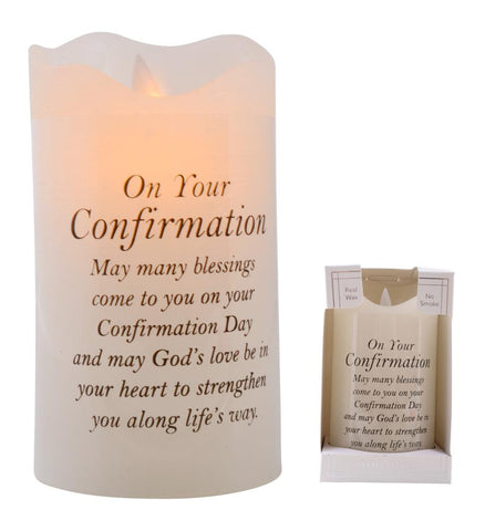 Gibson - Confirmation Led Light Candle