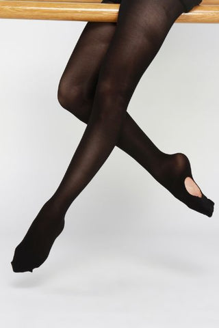 DK - DANCE TIGHTS CONVERTIBLE BLACK