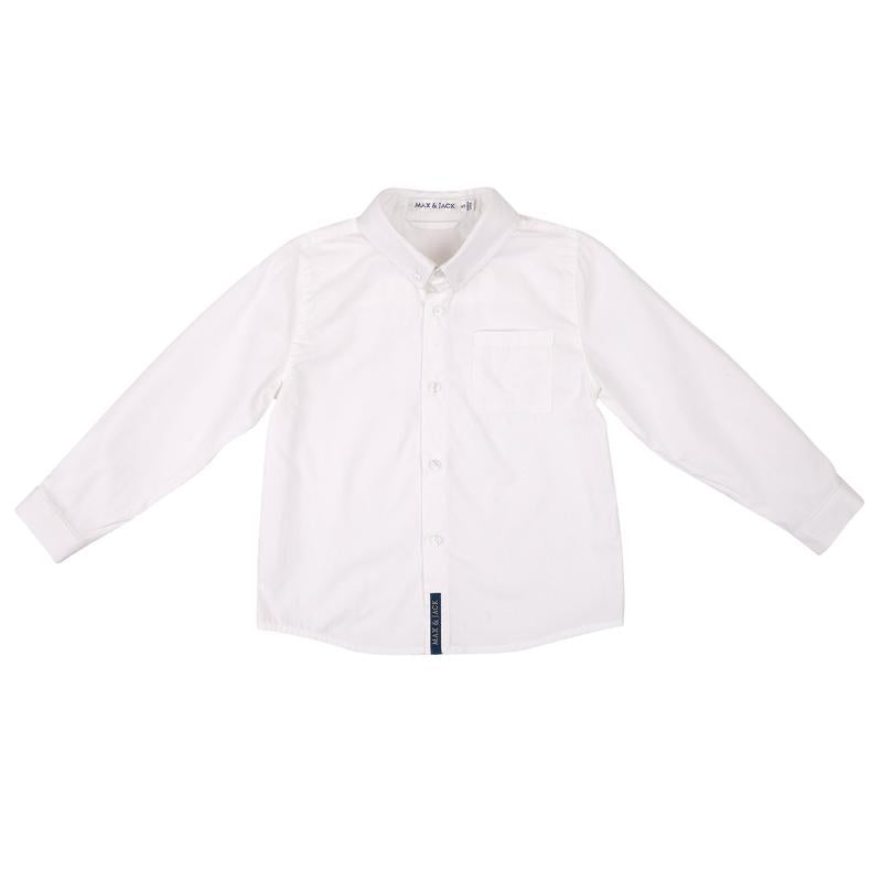 Max & Jack - JACKSON FORMAL SHIRT/L - WHITE
