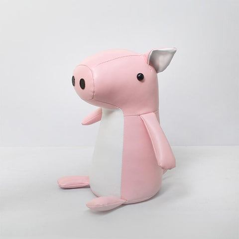 White Moose - Door stopper - Priscilla the Pig