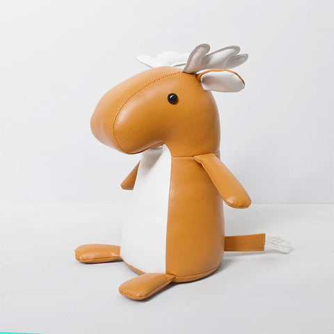 White Moose - Door stop - Mike the Moose