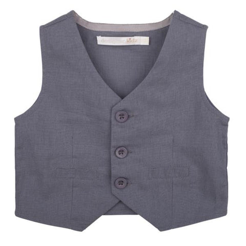 Max & Jack - Sam Vest - Sand or Grey