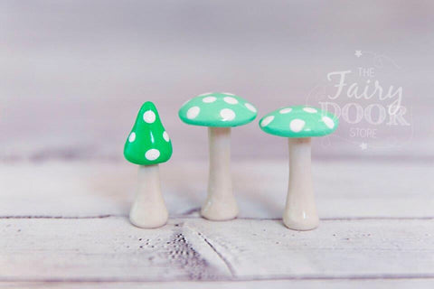 The Fairy Door Store - Mushys x3