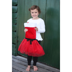 Giggle Me Pink - Christmas Tutu Stocking