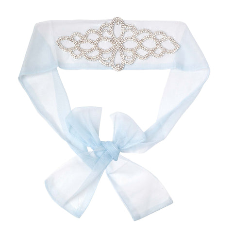 Designer Kidz - MELODY DIAMOND BELT - BLUE