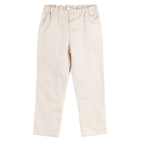 Max & Jack - Dress Long Sam Pants Tan