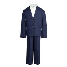Petit Parisians London Suit in French Navy