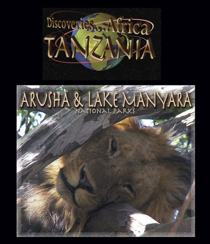 Discoveries Africa Tanzania: Arusha & Lake Manyara National Parks (Blu-ray) focuses on two areas of africa: Arusha National Park and Manyara National Park