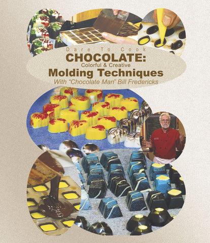 Make intricate desserts with chocolate man Bill Fredericks.