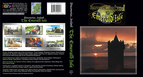 Discoveries Ireland, The Emerald Isle (Blu-ray) is rich with dancing, countryside, and ancient ruins.