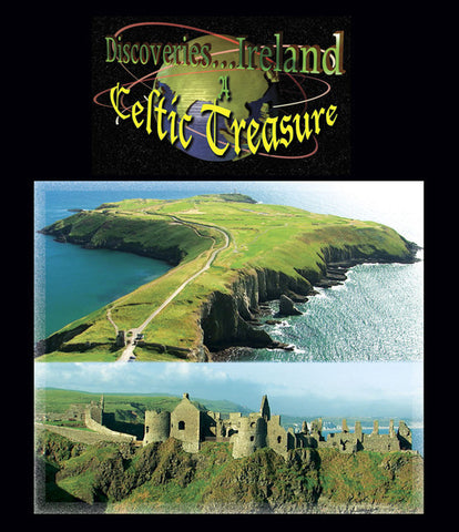 Old towns, cultural music, good food, and more in Discoveries Ireland, A Celtic Treasure (Blu-ray).