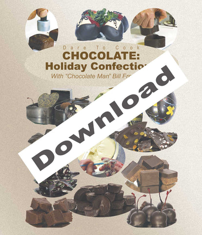 Download this program and learn from the Chocolate Man Bill Fredericks.