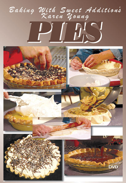 Baking with Sweet Addition's Karen Young will show you how to make pies and pie shells.