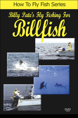 Experts Billy and Kelly demonstrate important factors to catching billfish in this episode of Billy Pate's Fly Fishing for Billfish