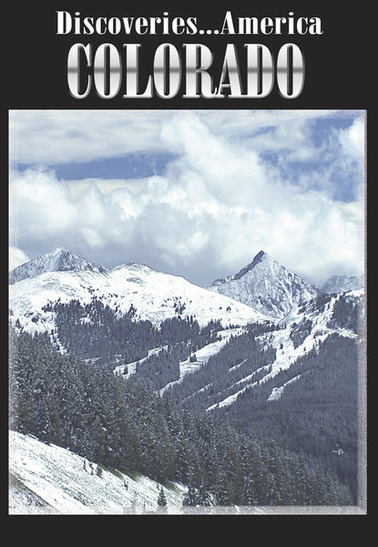 Rocky Mountains to ski slopes to the valley below, Colorado has a lot to offer in Discoveries America Colorado.