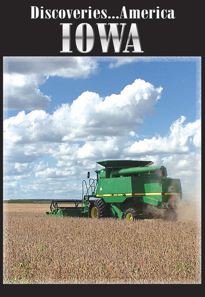 Discoveries America Iowa takes you on a scenic route to some of Iowa's pride and joys.