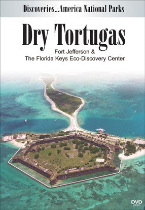 Disc. Am. National Parks, DRY TORTUGAS Fort Jefferson and the Florida Keys Eco-Discovery Center offers viewers a change to see the marine life that the Florida Keys have to offer.  Along with that hear stories of pirates, rumors of hidden treasure, and sunken gold.
