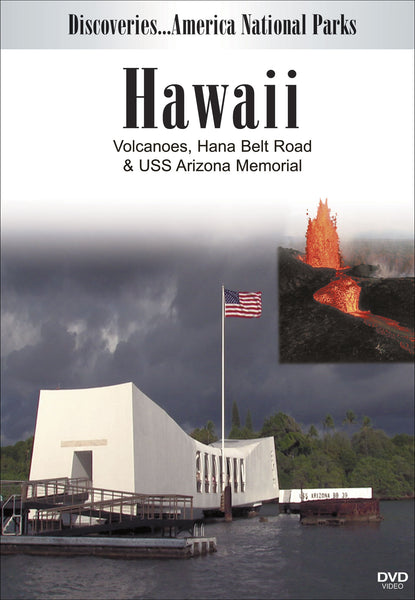 HAWAII Volcanoes, Hana Belt Road and USS Arizona Memorial shows you the wonderful waterfalls along Maui's main highway, the volcanoes, and facts about Pearl Harbor.