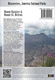 Mount Rainier and Mount Saint Helens back cover