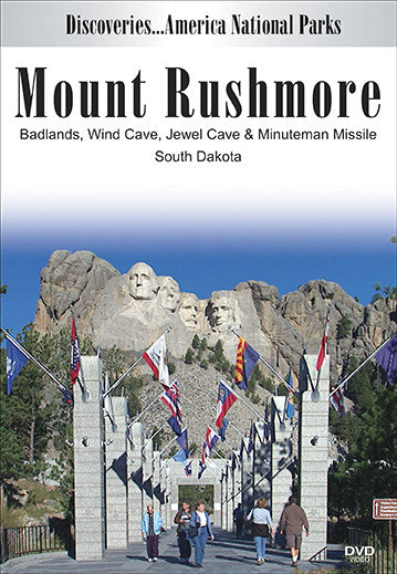 Watch Disc. Am. National Parks, MOUNT RUSHMORE, Badlands Wind Cave, Jewel Cave & Minuteman Missile, South Dakota to learn about all the natural jewels hidden here.