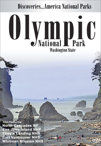"Learn about six national parks in Washington, but pay attention because only two have a ""National Park"" title at the end of them in Discoveries America, National Parks, Olympic National Park Washington State."