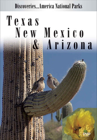 Texas, New Mexico & Arizona (Discoveries America National Parks)