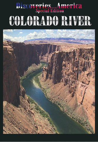 The Colorado River doesn't end in Colorado.  It flows gracefully through the Grand Canyon in Arizona.  See it on Discoveries America Special Edition Colorado River