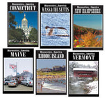 Discoveries America New England States 6 DVD Collection