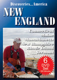 Discoveries America New England States 6 DVD Collection Condensed Version