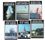 Discoveries America Middle Atlantic States 6 DVD Collection