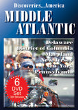 Discoveries America Middle Atlantic States 6 DVD Collection Condensed Version
