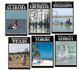 Discoveries...America Collection: Gulf Coast States