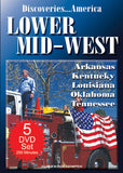 Discoveries America Lower Mid-West States 5 DVD Collection Condensed Version