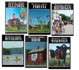Learn about Illinois, Indiana, Michigan, Minnesota, Ohio, and Wisconsin in this Discoveries America Great Lakes States 6 DVD Collection