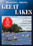 Discoveries America Great Lakes States 6 DVD Collection Condensed Version