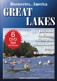 Discoveries America Great Lakes States 6 DVD Collection