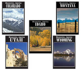 Discoveries America Mountain West States 5 DVD Collection