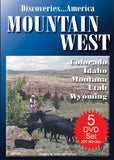 Discoveries America Mountain West States 5 DVD Collection Condensed Version
