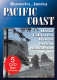 Discoveries America Pacific Coast 5 DVD Collection Condensed Version