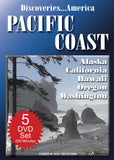 Discoveries America Pacific Coast 5 DVD Collection