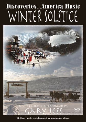 Winter Solstice with Steinway Artist Gary Jess plays relaxing piano pieces while peaceful images flash on the screen.