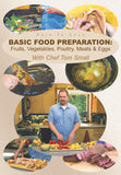 Dare To Cook Basic Food Preparation with Chef Tom Small will show you how to prepare basic dishes as well as the basic techniques for preparing certain foods.