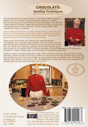 Chocolate colorful creative molding w bill fredericks for Advanced molding and decoration